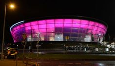 SSE Hydro in Glasgow turning pink for breast cancer | Breast Cancer Campaign #wearitpink #Glasgow