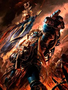 art-of-40k:  Last one of the year.Why yes, I am a staunch Imperial and yes, I did buy the Imperial codex wallpaper pack. Tomorrow, it will be a new year and we'll start looking at the art of the Shield of Baal supplement and codex: Blood Angels.