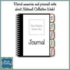 Digital Collection Center Journal - If you're an Operation Christmas Child Collection Center Co-ordinator, you have to remember countless numbers, names, dates and stats which is why we designed this handy Collection Center Journal. Easily record and organize stats, notes and memories using the 5 tab dividers and 52 journal pages which are included. The journal is easy to assemble - simply print as many pages as you need, cut them out and bind together!