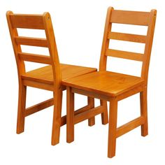 Children's Chair (Set Of 2) $44.99 We've added new color choices to our popular children's chairs. They're sized just for kids and crafted from dense hardwood with a smooth, fine grain that makes them durable and easy to clean. Colors Available: Espresso, Pecan, Cherry.  Weight (lb) 14.0000 Dimensions (in) 26.5 x 12.375 x 15.25  #casual #home #furniture #kids #chair #desk