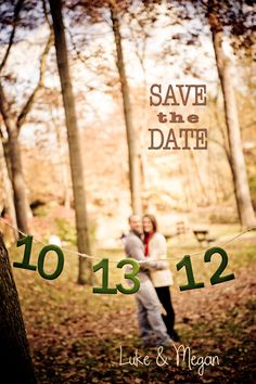 our save the date <3 ha this will be our 5th wedding anniversary ;)