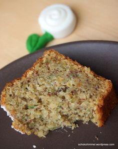 Saftiger Zucchini-Nuss-Kuchen, gleich ist er weg...