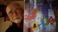 Roman Blazejewski mit Bild Basel zum ausleuchten wie Laternenmalerei Basel