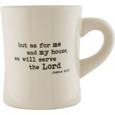 Ceramic Mug - As for Me and My House
