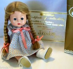 """12"""" JO-JO TODDLER DOLL w/Mohair Wig Reproduction of 1930S Classic *Mint*"""