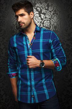 Au Noir shirt - Manchester Turquoise