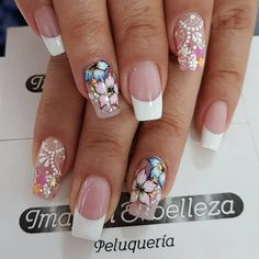 Just old school Sexy Nail Art, Sexy Nails, Toe Nails, Pink Nails, Fabulous Nails, Gorgeous Nails, Nails Only, Luxury Nails, French Tip Nails