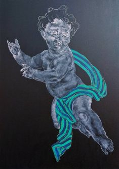 Flyer, Contemporary Paintings, Saatchi Art, Original Paintings, Lion Sculpture, Art Gallery, Childhood, Fine Art, Statue