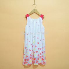 6eb92b8264 dress bird Picture - More Detailed Picture about Hiheart 2015 New Cotton  Teen Girls Dress Summer Casual Floral Bead Tank Sleeve Young Vest Dresses  Child ...