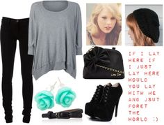 """""""Cold winter day going to the Coffee shop with Niall....Cause were cool like that haha :)"""" by bily4242 ❤ liked on Polyvore"""