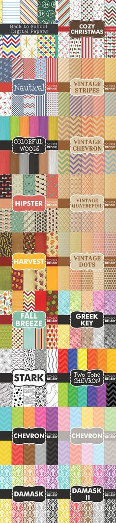 $1,530 Worth of design goodies for $29! Mega Pack of Frames, Borders, Textures, Patterns, Digital Papers, & More - Only $29 | MyDesignDeals