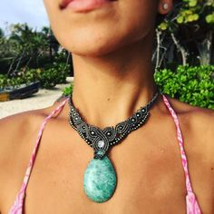 AMAZONITE •••> Calm + Alleviating fear & anxiety TBT one of my Favorite