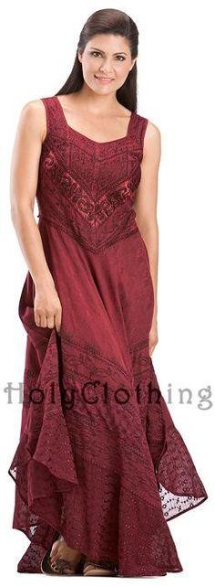 Vanessa Diamond Neck Satin & Lace Full A-Line Skirt Sun Dress - Dresses