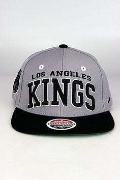 1c48e8c361a Zephyr Superstar LA Kings Snapback Hat Grey - Black - White
