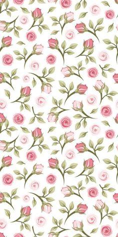 29 Ideas For Flowers Vintage Paper Decoupage Screen Wallpaper, Flower Wallpaper, Pattern Wallpaper, Wallpaper Backgrounds, Flower Pattern Design, Flower Patterns, Print Patterns, Cellphone Wallpaper, Iphone Wallpaper