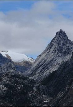 Snowy Puncak Jaya (Carstensz Pyramid) - Papua, Indonesia