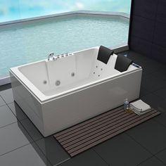 Whirlpool Torino 180x120cm Bathtub, Indoor, Bathroom, Google, Shower, Bath Tube, Refurbishment, Bathing, House