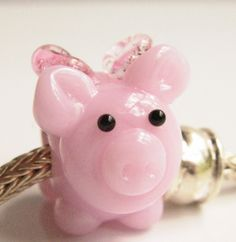 Pandora Piggy Charm; I want it!!!(:
