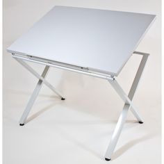 This Drawing And Drafting Table From Martin Takes Art And Hobby To A New  Level. With An Ultra Stable Design, This Table Features A White Finish, ...