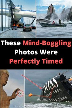 These Mind-Boggling Photos Were Perfectly Timed