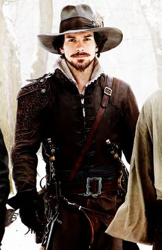 Santiago Cabrera as Aramis in The Musketeers, due out next year