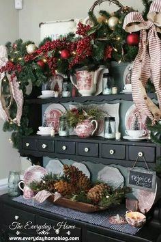 Very festive.