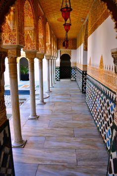 Pueblo Espanyol Hallway, Palma, Majorca, Spain - Johnson-Miles photo