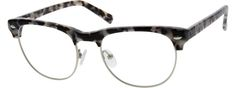 Unisex Silver 1438 Metal Alloy Full-Rim Frame Acetate Temples And Spring Hinges | Zenni Optical Glasses-o3TsPFzK