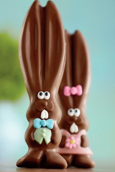 This year Mr. Ears is joined by Mrs. Ears! The best things come in pairs and now we have a chocolate Easter bunny for any occasion.