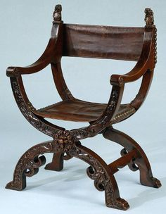 The chair in the image above, is of Ancient Roman design. It is the chair that was used by Lady Margaine. Roman Artifacts, Ancient Artifacts, Renaissance Furniture, Roman Architecture, Roman History, Old Chairs, Ancient Rome, Modern Materials, Folding Chair