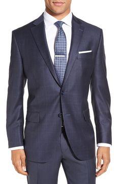 92f5aafc76d1f5 Peter Millar Flynn Classic Fit Windowpane Wool Sport Coat. #petermillar  #cloth # Dapper