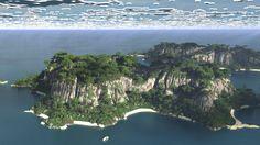 The Slug Isles -2Kx4K Tropics Minecraft Project