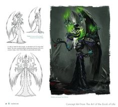 An exclusive look at the collection of concept art from the upcoming animated movie