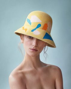 Hats by Laura Apsit Livens. I'm so into this.