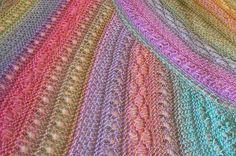 loom knit! American Paris Shawl - beautiful!