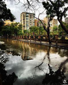 The beautiful rainy #Beirut