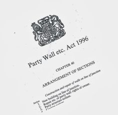 Party Wall etc. Act 1996 – Much more than just Party Walls! - It is easy to see how the Party Wall etc. Act can be mis-interpreted, particularly by members of the public, just by the nature of it's title. For those who work in the property professions and interact with the Act on a regular basis there will be generally less confusion, however in my experience this is not always the case!