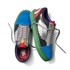 Vans x Marvel Old Skool  476f9d683
