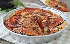 TORTA DI MELANZANE IN CROSTA ricetta facilissima