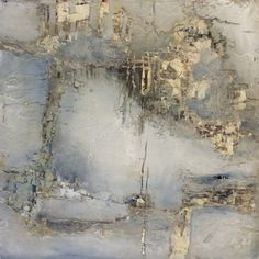 Jeane Meyer, oil and cold wax