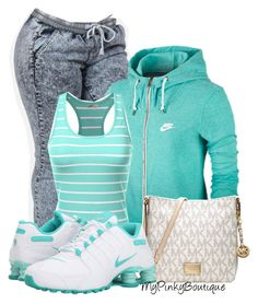 """""""#601"""" by gorgeousmama29 ❤ liked on Polyvore featuring NIKE, J.TOMSON and MICHAEL Michael Kors"""