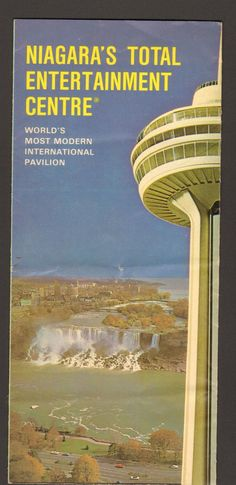 Undated Brochure Skylon Observatory Niagara Falls Entertainment Center - Advintage Plus