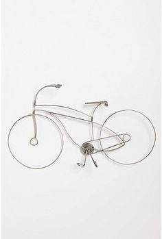 For the bike enthusiast. Plus, this is DIY possible, like the reviewer said. Metal wire hangers, spray painted :3
