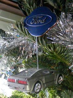 Automotive Fine Art Studio Blog: Our Christmas Tree | Hallmark, Carlton, American Greeting, Liberty Collector Car Ornaments Galore!