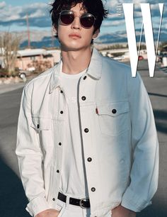 Lee Je Hoon Wanders Freely In LA For April's W Magazine | Couch Kimchi