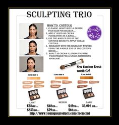 Sculpting Trio and Contour Brush Set What's your color? Light: Scarlet, Organza, Velour, Taffeta Medium: Chiffon, Satin, Cashmere Dark: Velvet, Charmeuse, Cypress Purchase the May Customer Kudos May 9–May 31! Get yours while supplies last. #younique #contourset #england #uk #makeup #beauty