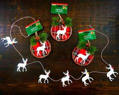 These easy DIY Dollar Store Christmas Ornaments are so easy to make. They're great crafts for kids or adults to give as gifts or to keep for yourself. Plus, it's a great way to use your favorite photos and Christmas card photos. (And no paint required! Christmas Crafts For Gifts For Adults, Diy Christmas Gifts, Christmas Decor, Christmas Ideas, Christmas Tree, Picture Christmas Ornaments, Christmas Photo Cards, Diy Ornaments, Dollar Store Christmas