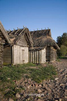 Altja Fishing Village,   Lääne-Viru County, Lahemaa National Park, Estonia, Europe