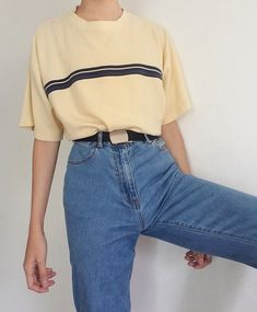 # # # Mode # Vintage # Retro # Ästhetik, Source by clothes Mode Outfits, Retro Outfits, Casual Outfits, Fashion Outfits, 80s Inspired Outfits, 80s Style Outfits, Cute Vintage Outfits, Fashion Clothes, Hipster Outfits