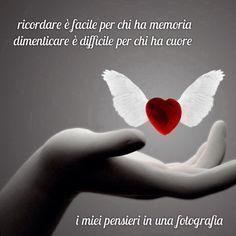 Ricordare è facile per chi ha memoria ....dimenticare è difficile per chi ha cuore ❤️